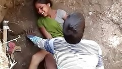 hot south indian young teenager from school fucked outdoor by her brother friend